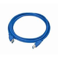 Кабель-удлинитель USB3.0 BURO USB3.0-AM/AF-5,  USB A (m) -  USB A (f),  5м,  синий