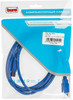 Кабель USB3.0 BURO USB A(m) -  USB B(m),  1.8м,  синий [usb3.0-am/bm] вид 3