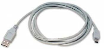 Кабель USB BURO USB-M5P-1,8,  USB A (m) -  mini USB B (m),  1.8м
