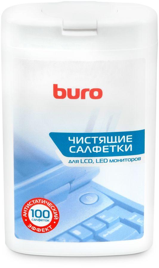 Влажные салфетки BURO BU-tft