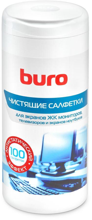 Влажные салфетки BURO BU-Tscreen, 100 шт