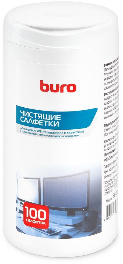 Влажные салфетки BURO BU-Tscrl