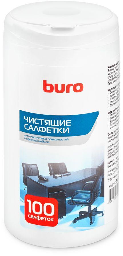 Влажные салфетки BURO BU-Tsurl