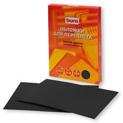 Обложка BURO BU-2011b,  A4,  230г/м2,  100,  черный