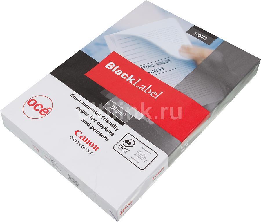 Бумага Canon Oce Black Label Plus/Black Label 6822B002 A3/80г/м2/500л./белый
