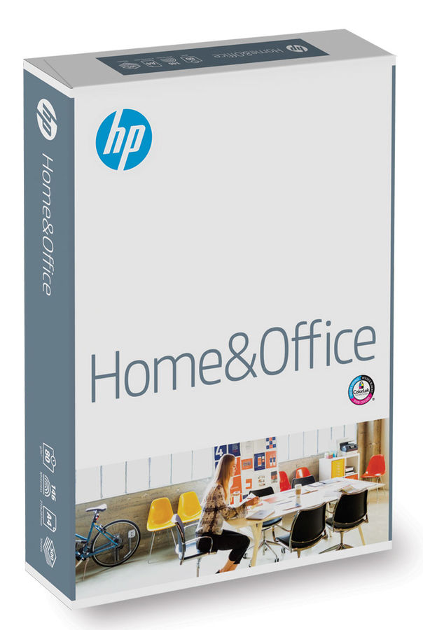 Бумага International Paper HP Home&Office A4/80г/м2/500л /белый CIE146%  матовое общего назначения(оф