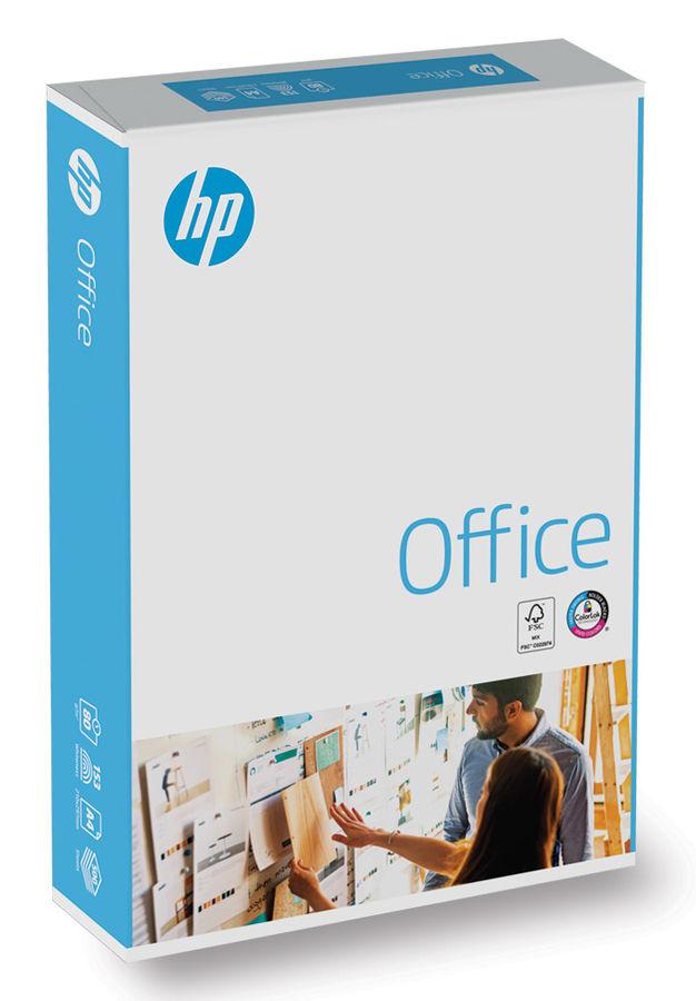 Бумага International Paper HP Office CHPOP080X528 A4/80г/м2/500л./белый CIE153% матовое/матовое обще