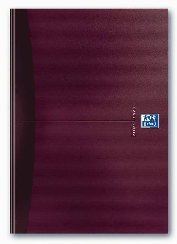 Тетрадь Oxford Office ESSENTIALS 100100570 A4 ламин.картон 96л клетка книжный переплет ассорти