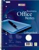 Тетрадь Oxford WORK Landre 100050258A5 обложка картон 80л линейка спираль