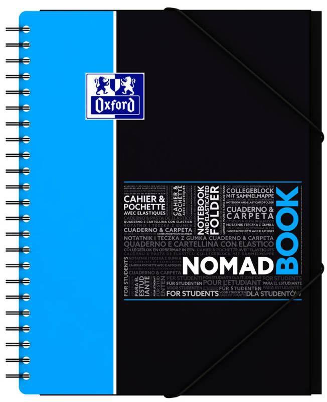 Тетрадь-папка Landre Oxford Campus Nomadbook 100106006/377998 240х310мм полипропилен белые страницы