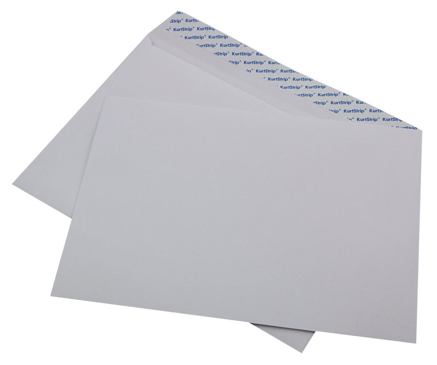 Конверт 164 C4 229x324мм белый силиконовая лента 80г/м2 (pack:500pcs)