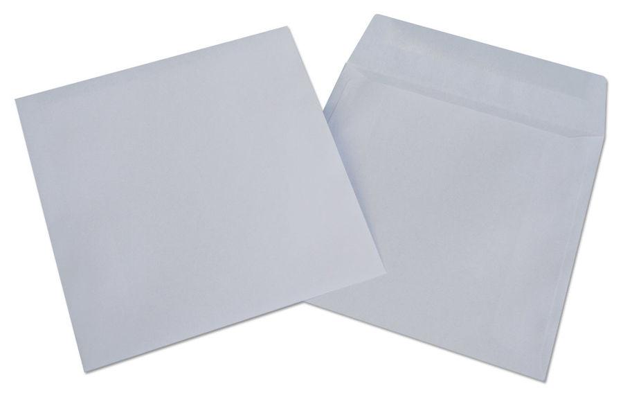 Конверт 201060 CD 125x125мм без окна белый клеевой слой 80г/м2 (pack:1000pcs)