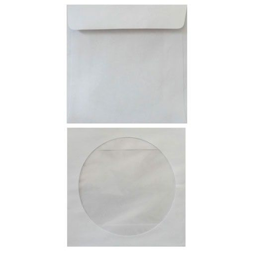 Конверт 201070.10 CD 125x125мм с окном белый клеевой слой 80г/м2 (pack:10pcs)