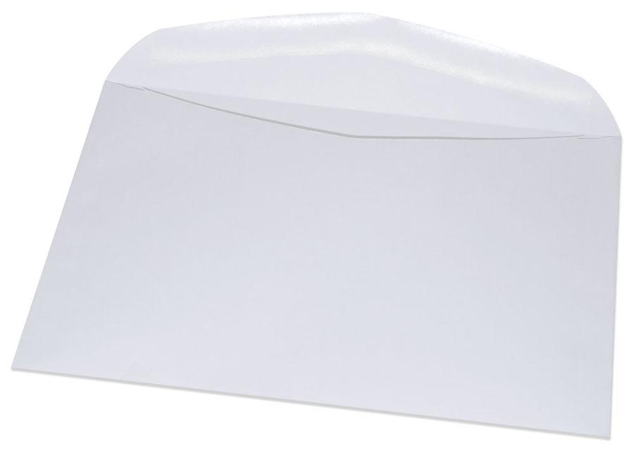 Конверт Бюрократ 250.1000 C5 162x229мм белый клеевой слой 80г/м2 (pack:1000pcs)