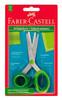 Ножницы Faber-Castell 181504 для школьного возраста набор цветов в блистере