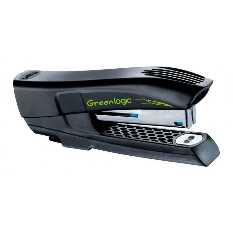 Степлер Maped Greenlogic карманный пластиковый экологичный на 15л скобы №10 с встроен. антистеплером [353211]