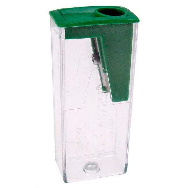 Точилка для карандашей FABER-CASTELL 582425  механическая,  зеленый