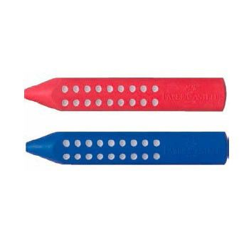 Ластик Faber-Castell Grip 2001 187101 красный/синий