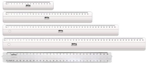 Линейка Rotring Centro Flat Ruler S0221500 пластик дл.50см прозрачный