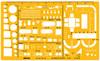 Шаблон архитектурный Rotring Architekt S0238711 пластик 250x150x1.2мм желтый 1:50 вид 1