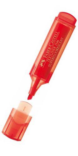 Текстовыделитель Faber-Castell 1546 154621 красный флуоресцентный