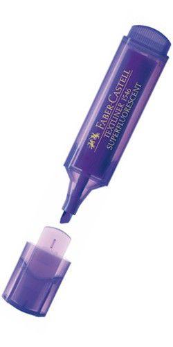 Текстовыделитель Faber-Castell 1546 154636 фиолетовый флуоресцентный