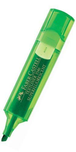 Текстовыделитель Faber-Castell 1546 154663 зеленый флуоресцентный