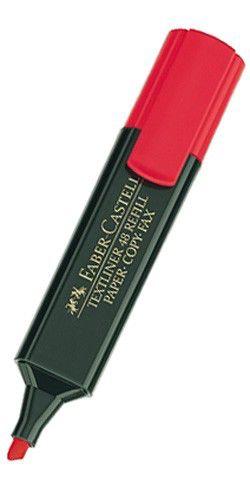 Текстовыделитель Faber-Castell 1548 154821 красный