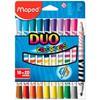 Фломастеры Maped ColorPeps Duo 84701020цв.
