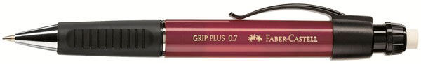 Карандаш механический Faber-Castell Grip Plus 130731 0.7мм красный faber pareo