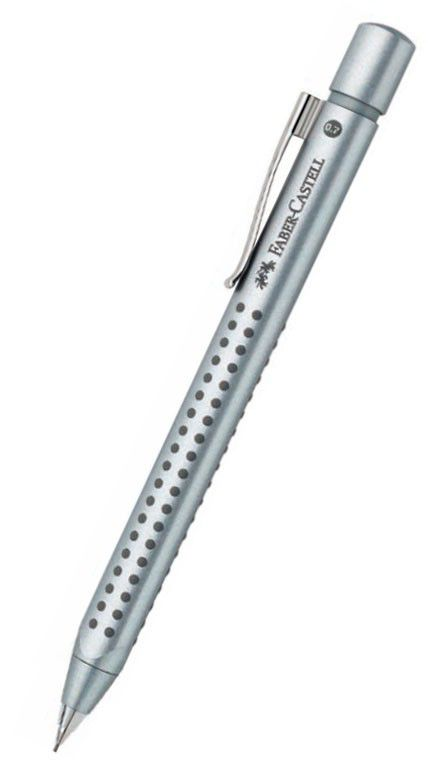 Карандаш механический Faber-Castell Grip 2011 131211 0.7мм ластик серебристый