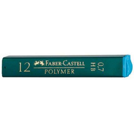 Грифель Faber-Castell Polymer 521700 0.7мм HB (12гриф) карт.кор.