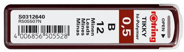 Грифель Rotring Tikky S0312640 0.5мм B (12гриф)