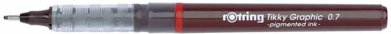 Упаковка ручек капиллярных ROTRING Tikky Graphic 1904757,  0.7мм,  черный