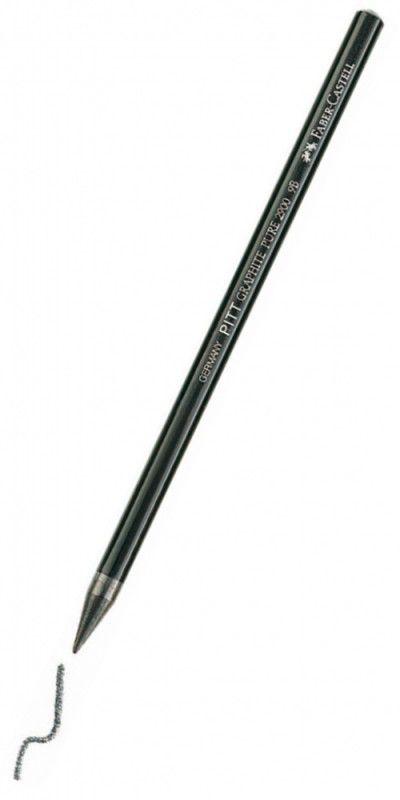 Карандаш чернографит. Faber-Castell Pitt Monochrome 117307 6B