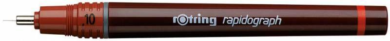 Рапидограф Rotring 1903475 1.0мм съемный пишущий узел/сменный картридж