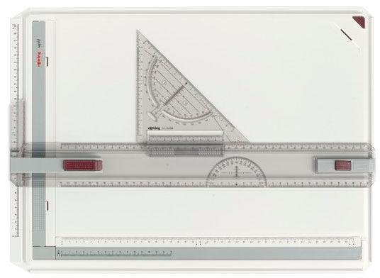 Чертежная доска Rotring Rapid S0213910 A3 два магнитных зажима в компл.:дополнтиельный угловой зажим