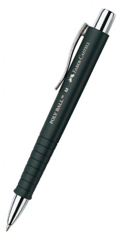 Ручка шариковая Faber-Castell Poly Ball (241199) черные чернила
