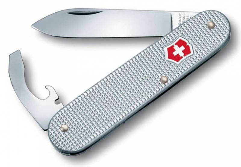 Складной нож VICTORINOX Alox Bantam, 5 функций,  84мм, серебристый  [0.2300.26]