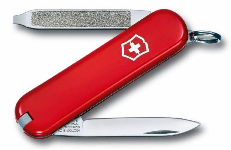 Складной нож VICTORINOX Escort, 6 функций,  58мм, красный  [0.6123]