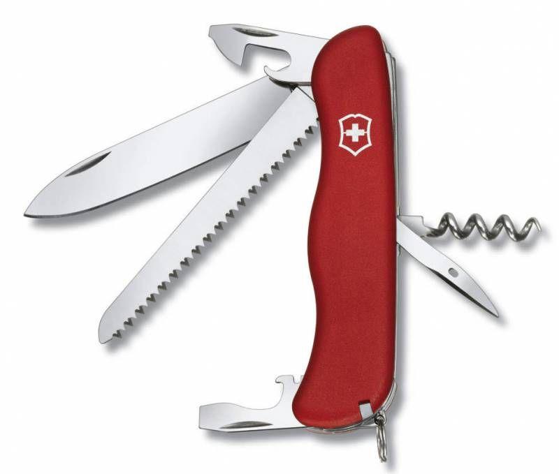 Складной нож VICTORINOX Rucksack, 14 функций,  111мм, красный  [0.8863]