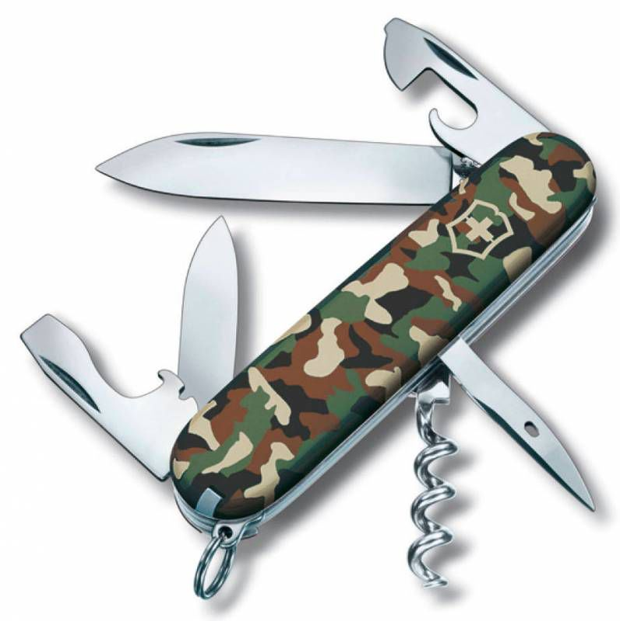 Складной нож VICTORINOX Spartan, 12 функций,  91мм, камуфляж  [1.3603.94]
