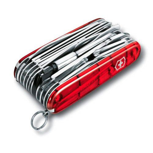 Нож перочинный Victorinox SwissChamp XLT (1.6795.XLT) 91мм 49функций красный карт.коробка