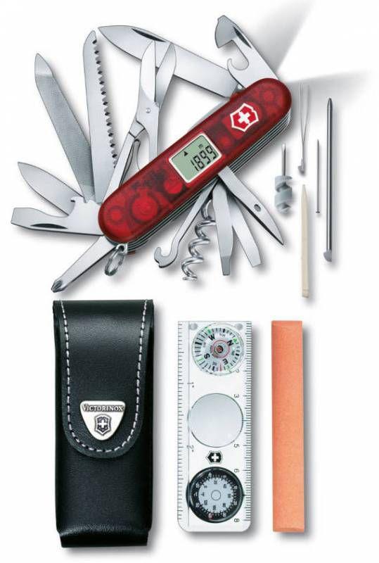 Набор инструментов Victorinox Expedition Kit (1.8741.AVT) компл.:нож/компас/точильный камень/чехол к