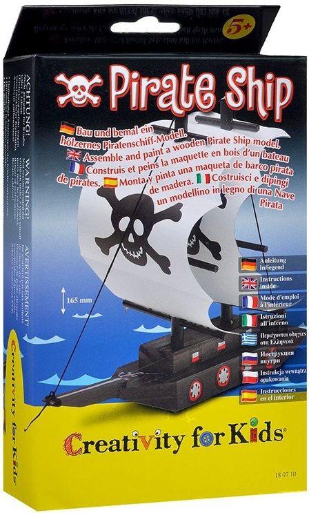 Набор для детского творчества Faber-Castell Пиратский корабль 180710 картон.кор.