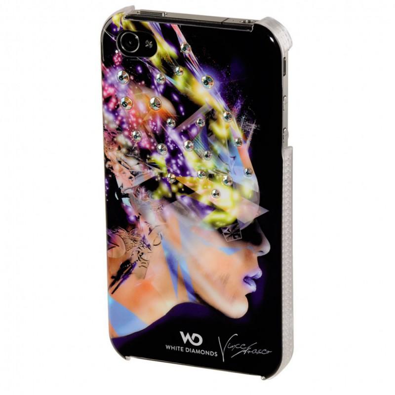 Чехол (флип-кейс) HAMA H-108501, для Apple iPhone 4/4S, черный [00108501]