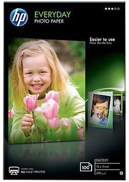 Фотобумага HP CR757A 10x15 см/200г/м2/100л Глянцевая