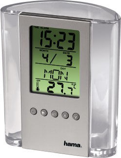 Термометр HAMA H-75299,  серебристый [00075299]