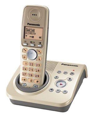 Радиотелефон PANASONIC KX-TG7225RUJ,  бежевый