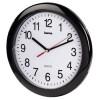 Настенные часы HAMA PP-250 H-113920, аналоговые,  черный вид 2